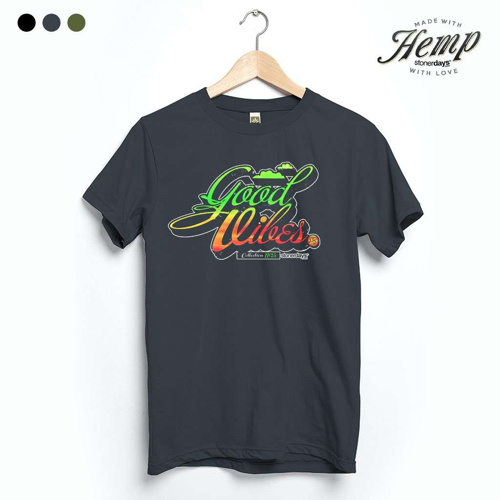 Good Vibes Hemp Tee