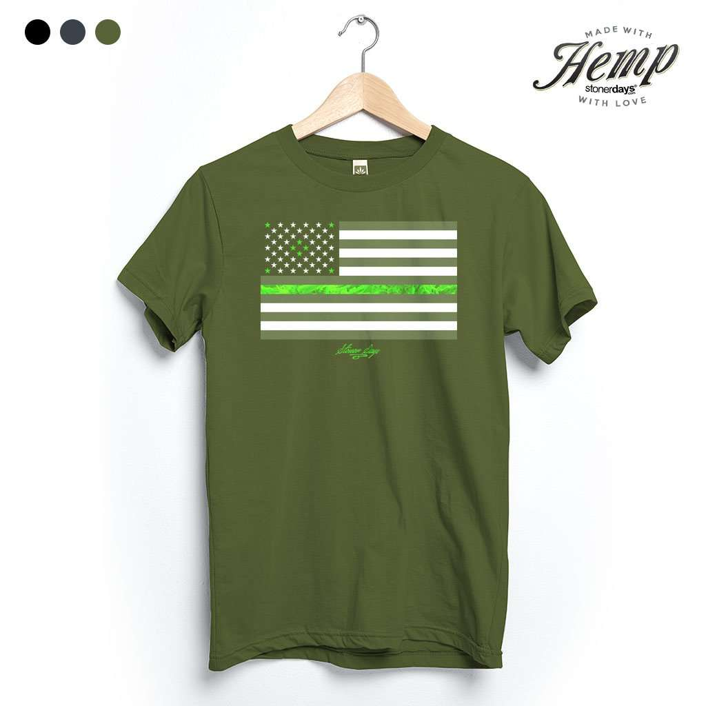 Legalize Freedom Hemp Tee