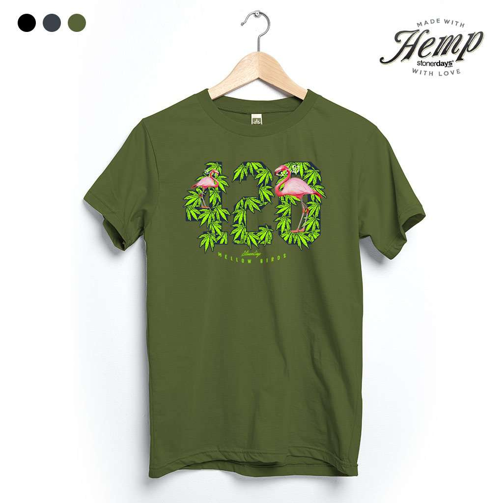 Mellow Birds Hemp Tee