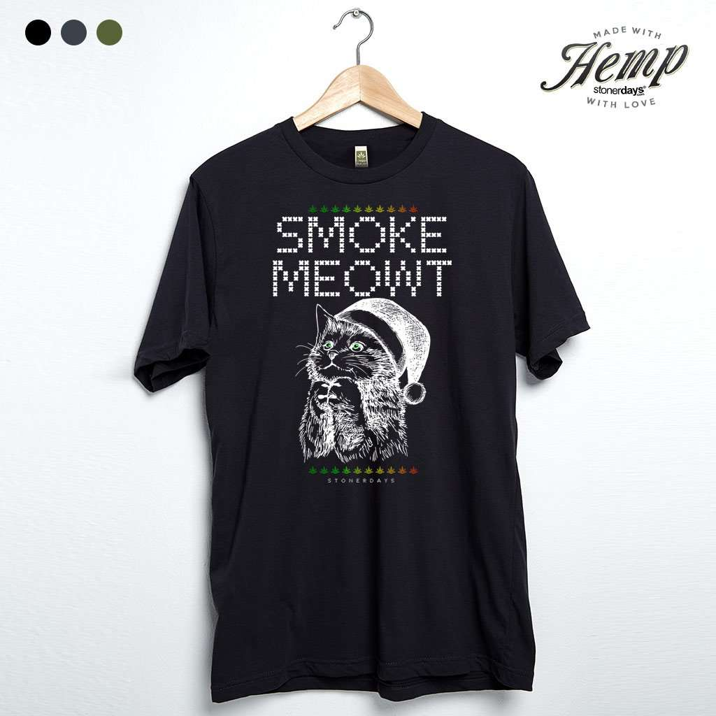 Smoke Meowt Hemp Tee