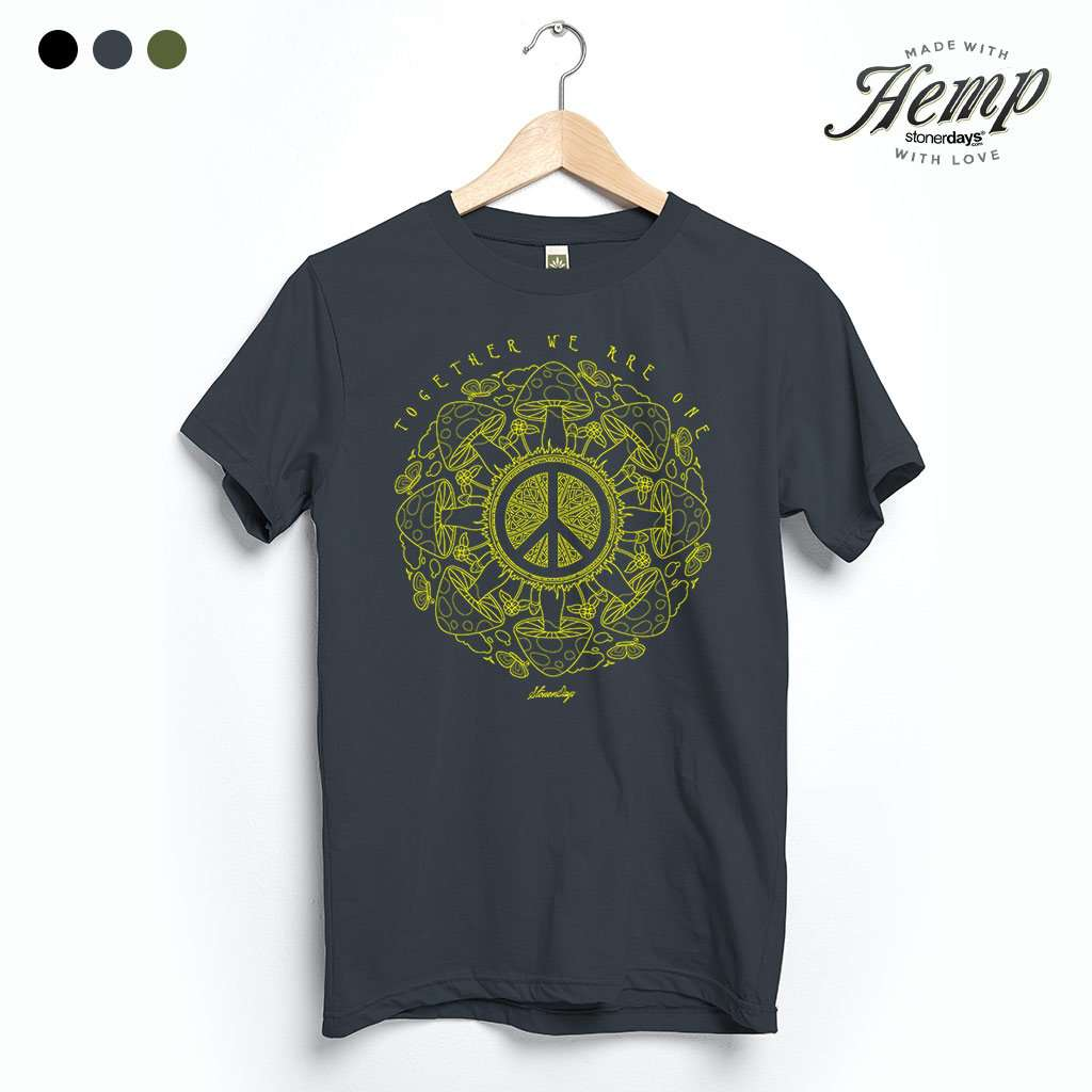 Together We Are One Hemp Tee