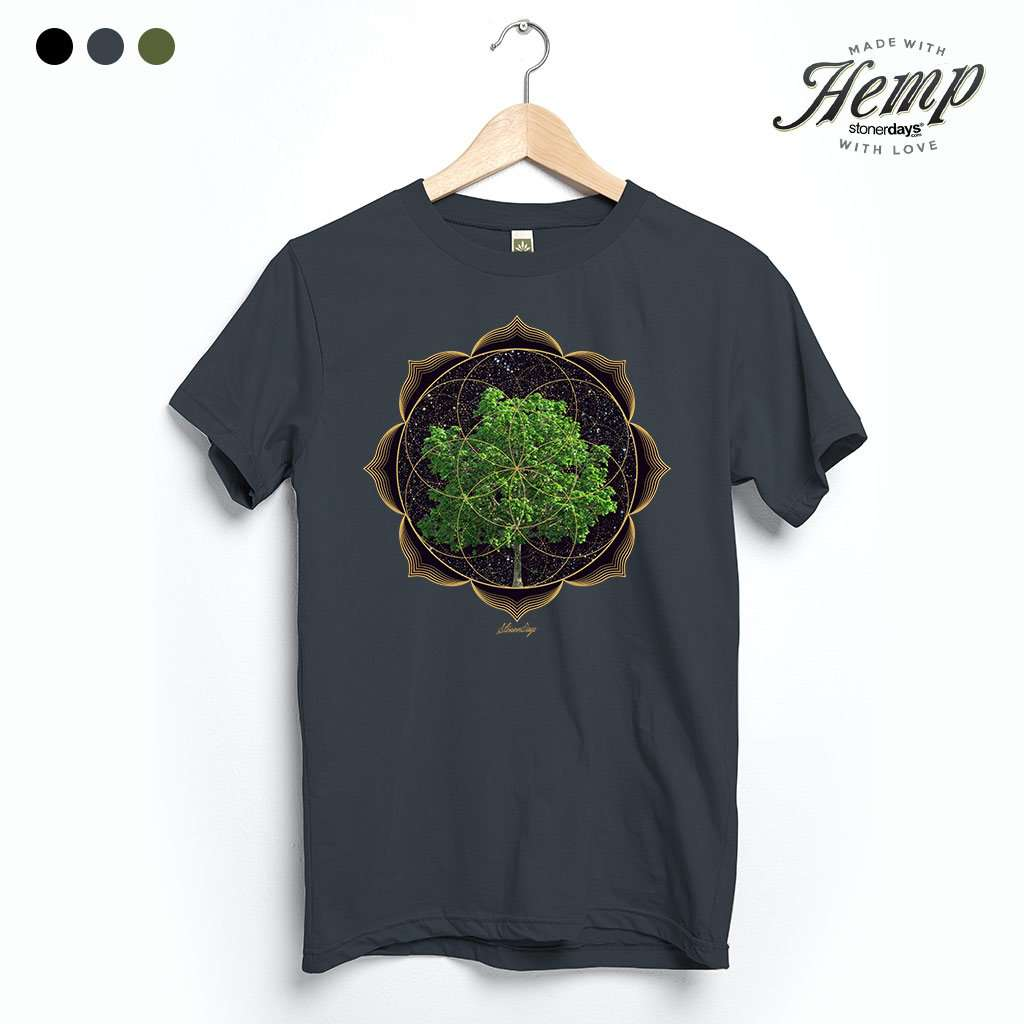 Trippy Trees Hemp Tee