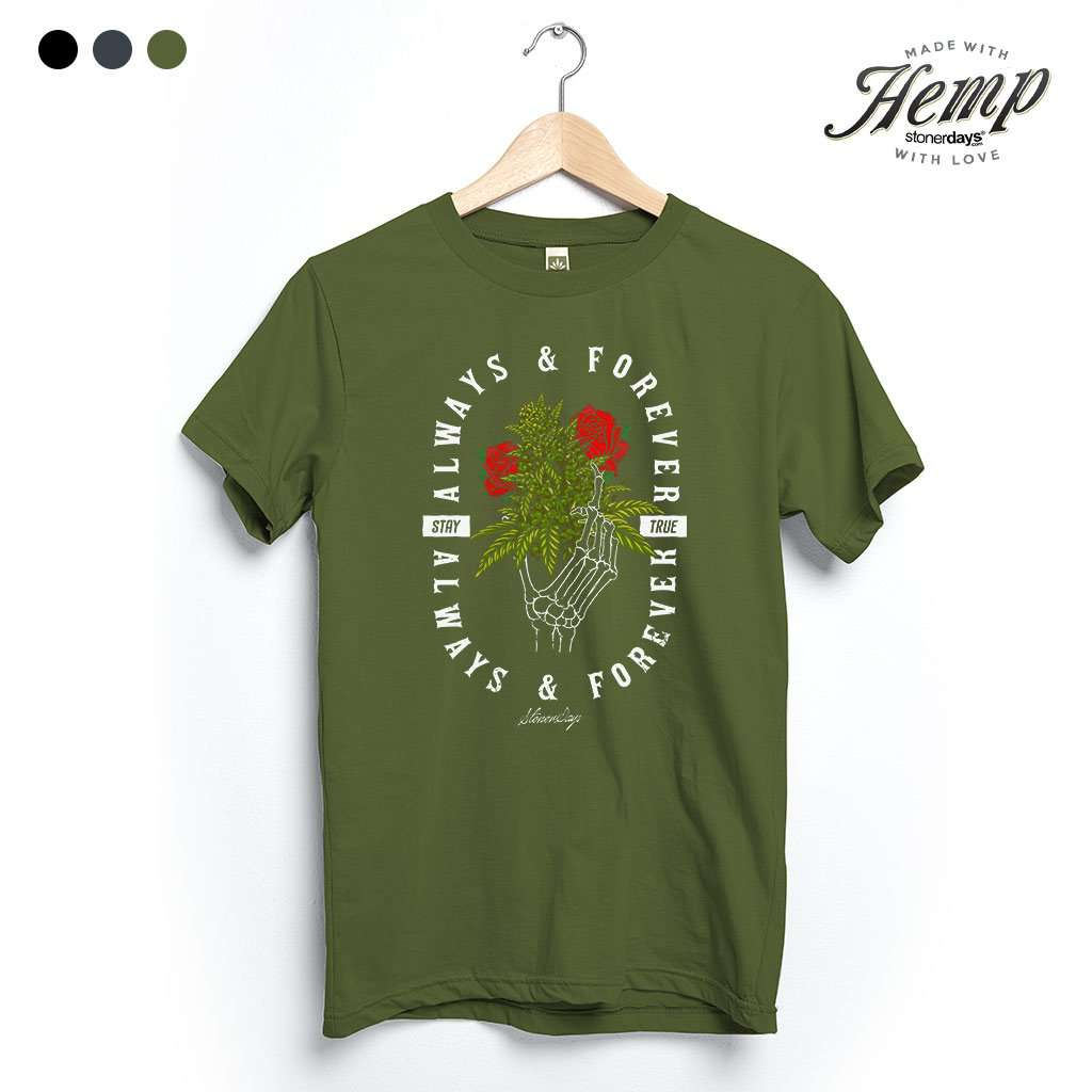 Always And Forever Hemp Tee