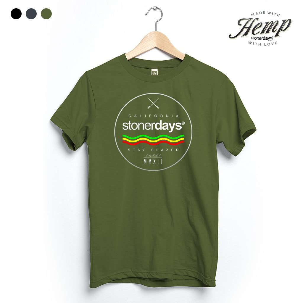 Surfs Up Hemp Tee