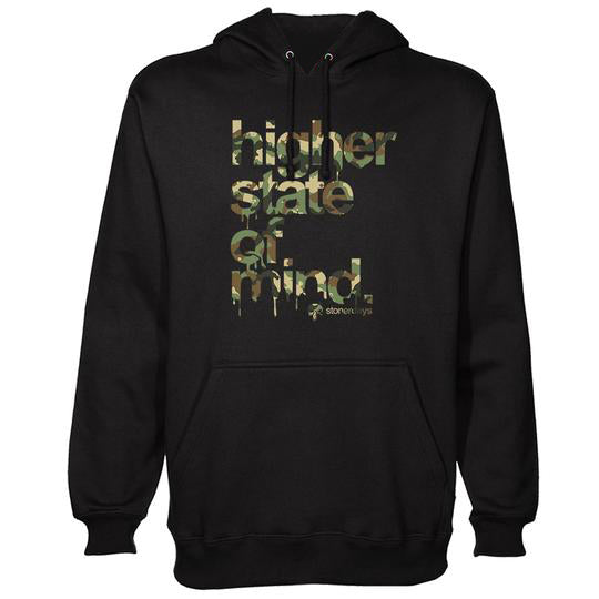 Higher State of Mind Army HOODIE