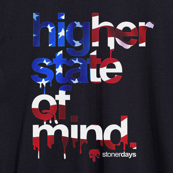 Higher State of Mind Patriot Tee