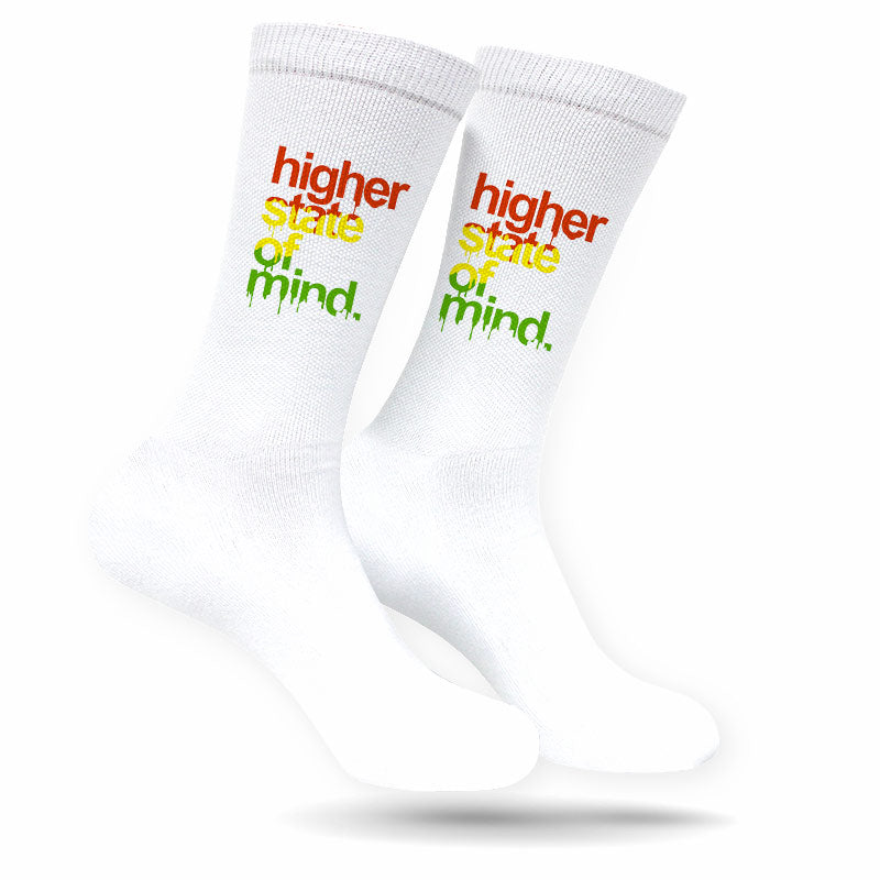 HSOM RASTA WHITE SOCKS