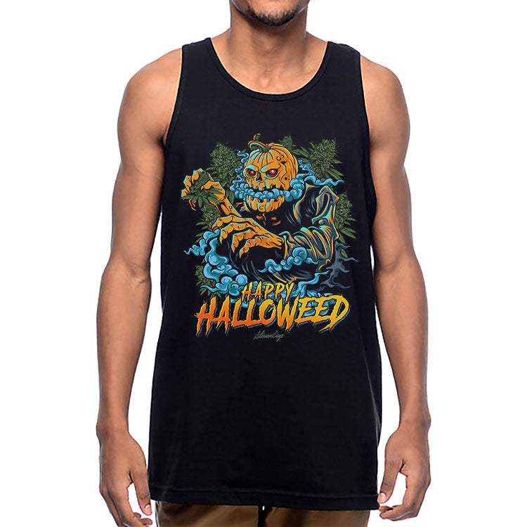 Happy Halloweed Tank