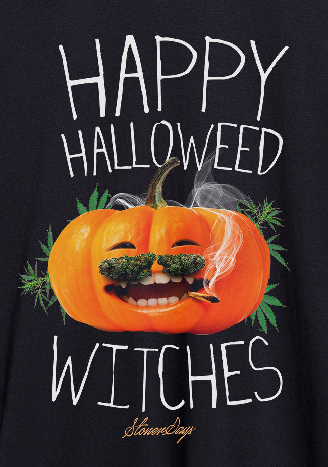 Happy Halloweed Witches Hoodie