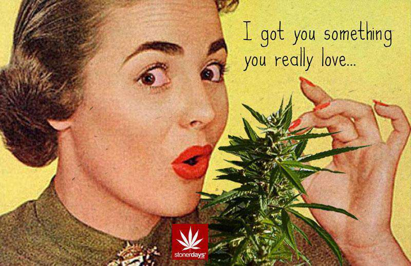 I GOT YOU SOMETHING YOU REALLY LOVE HEMP CARD