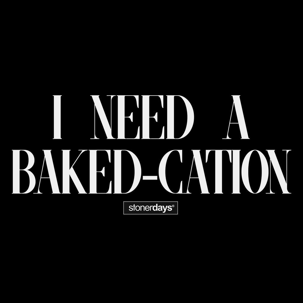 I Need A Bakedcation Racerback