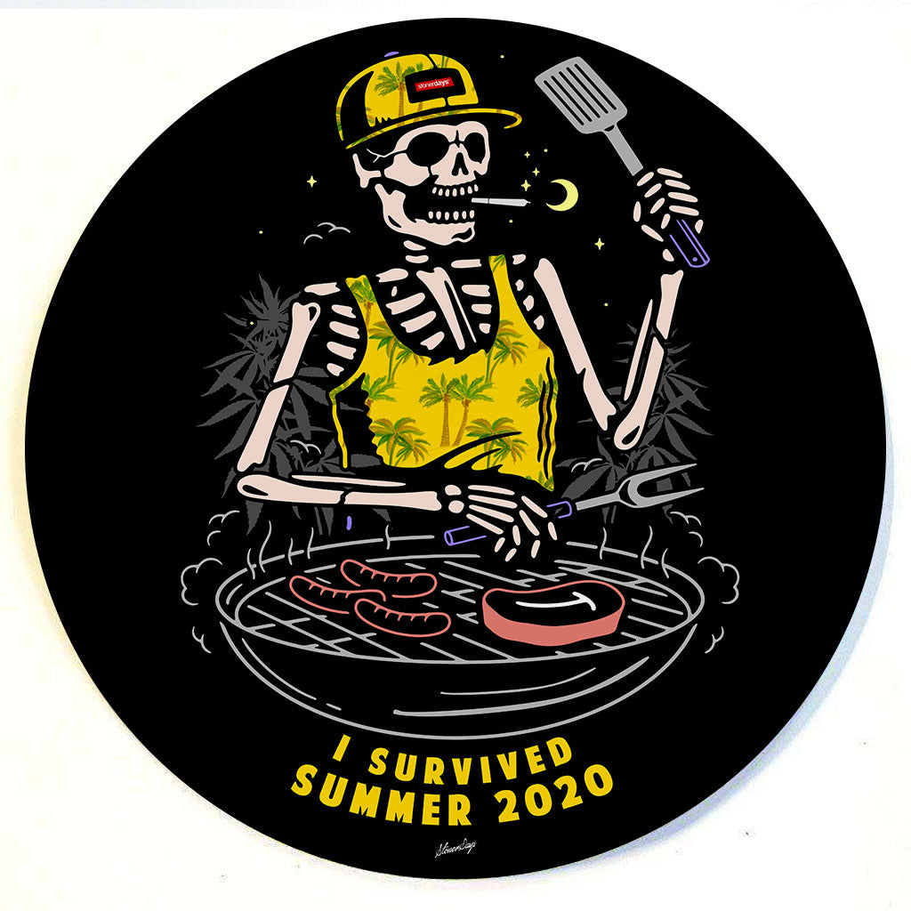 I Survived Summer 2020 Dab Mat