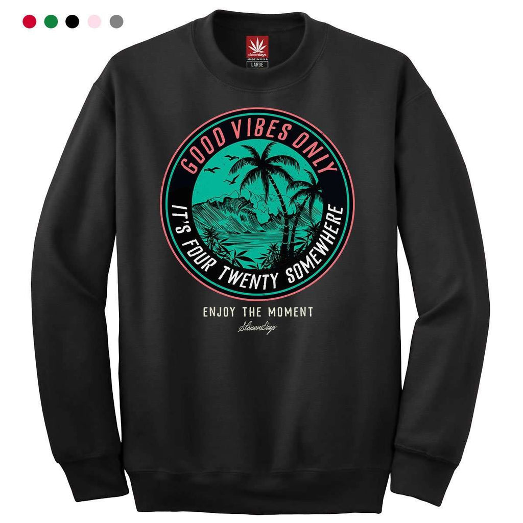 ITS 420 SOMEWHERE CREWNECK SWEATSHIRT