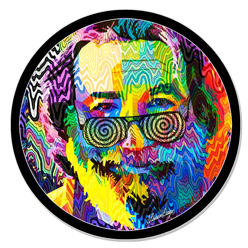 GRATEFUL JERRY POP ART MAT