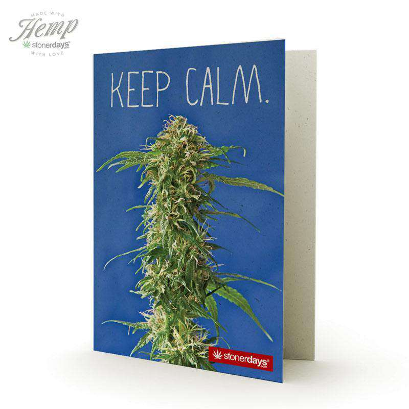 KEEP CALM HEMP CARDS