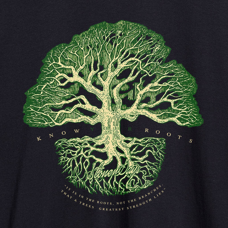 Know Your Roots Mens Tee
