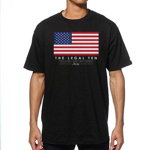 The Legal Ten Men's Tee By StonerDays