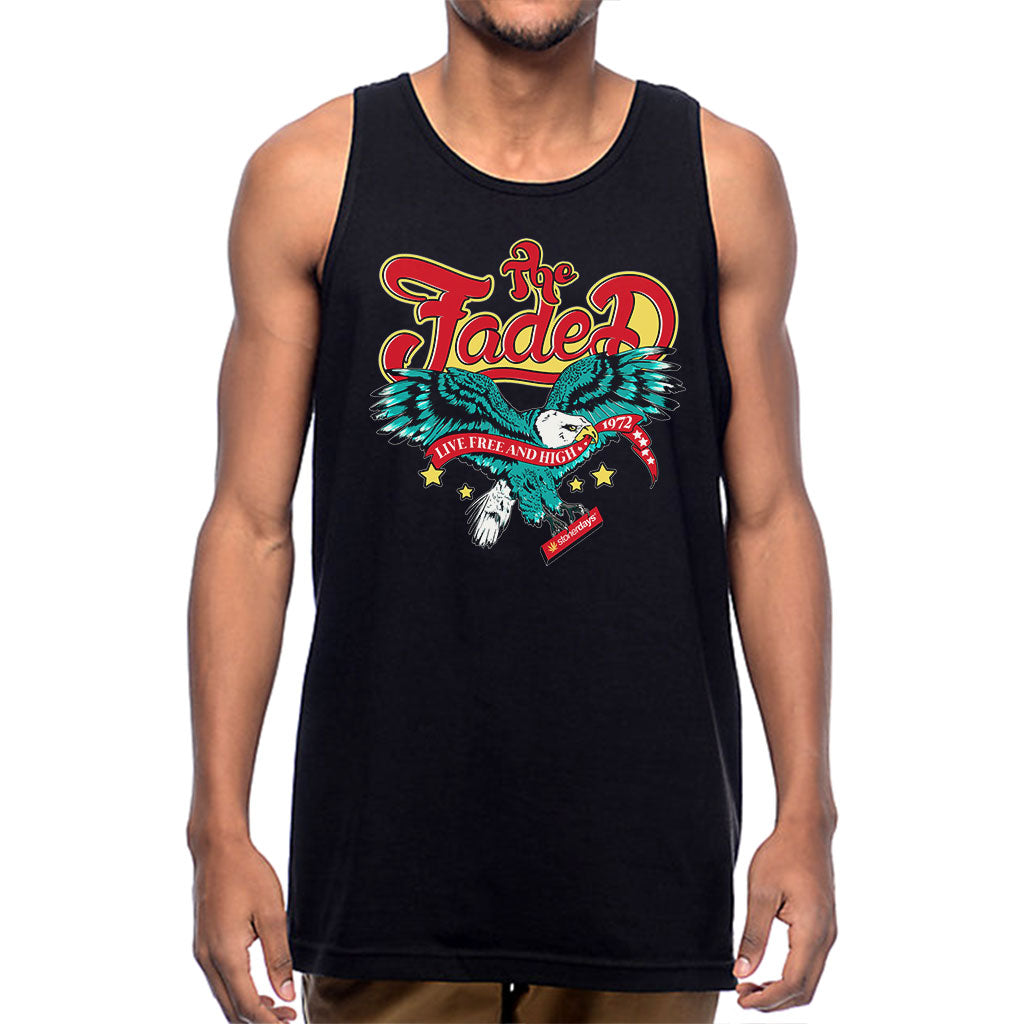 Live Free and High Mens TANK