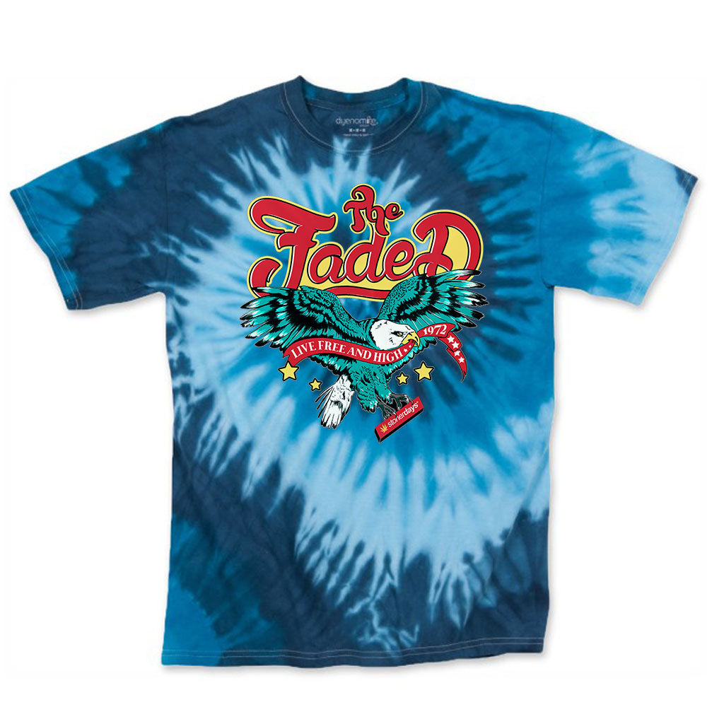 Live Free and High Tie-Dye