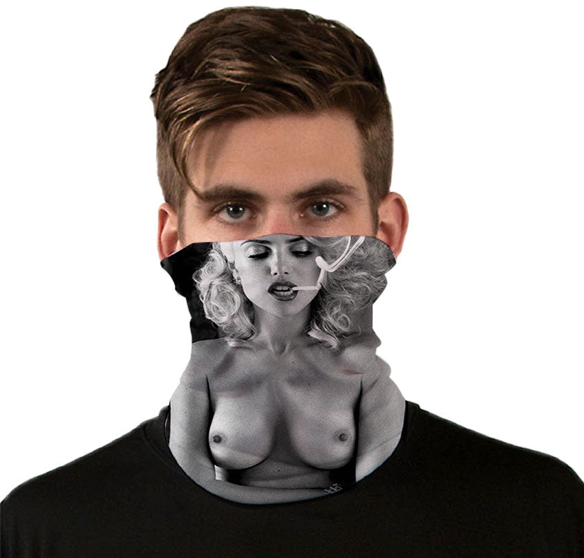 Marilyn Uncensored Neck Gaiter