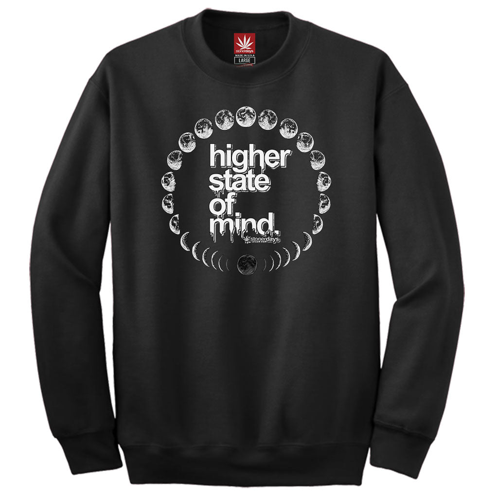 MOON PHASES CREWNECK SWEATSHIRT