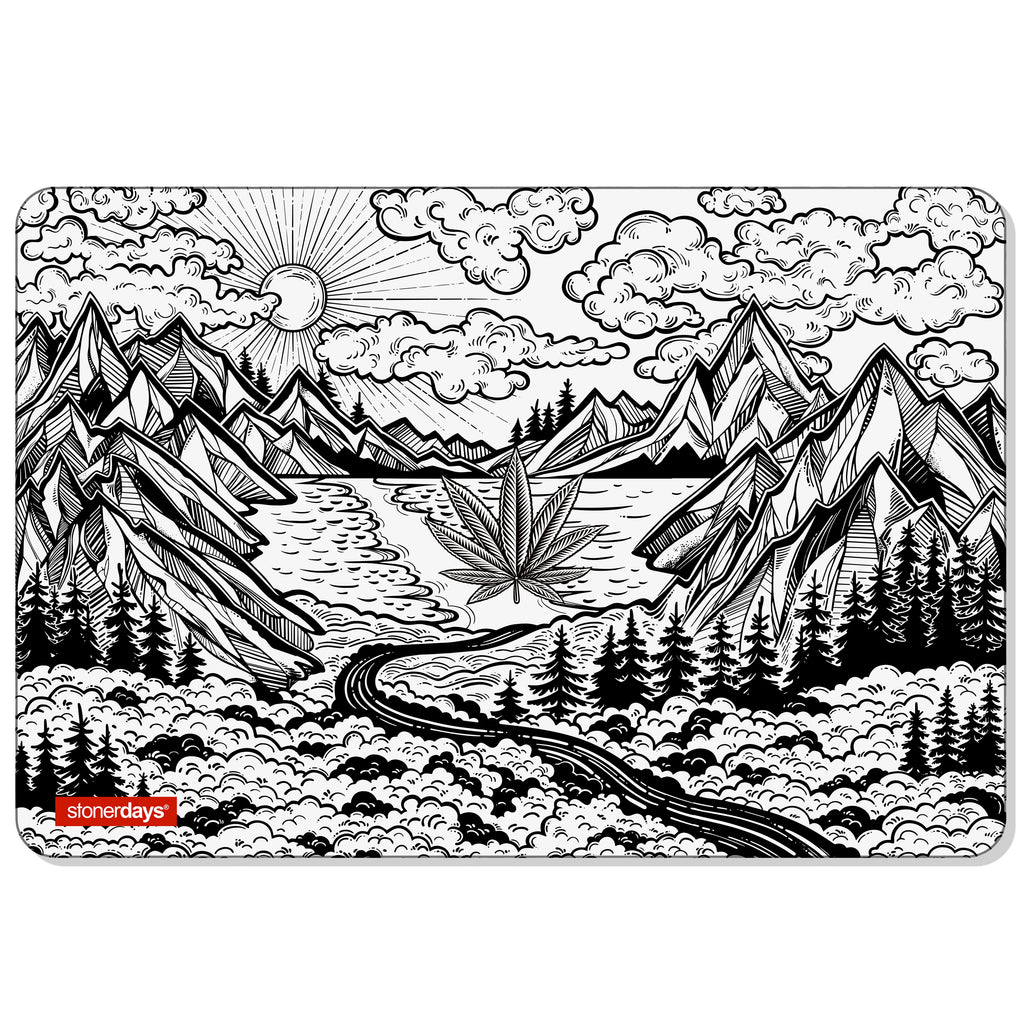 Mountain Scapes Large Creativity Mat Set