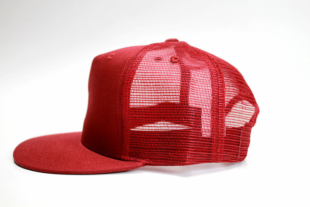 Maroon High Trucker