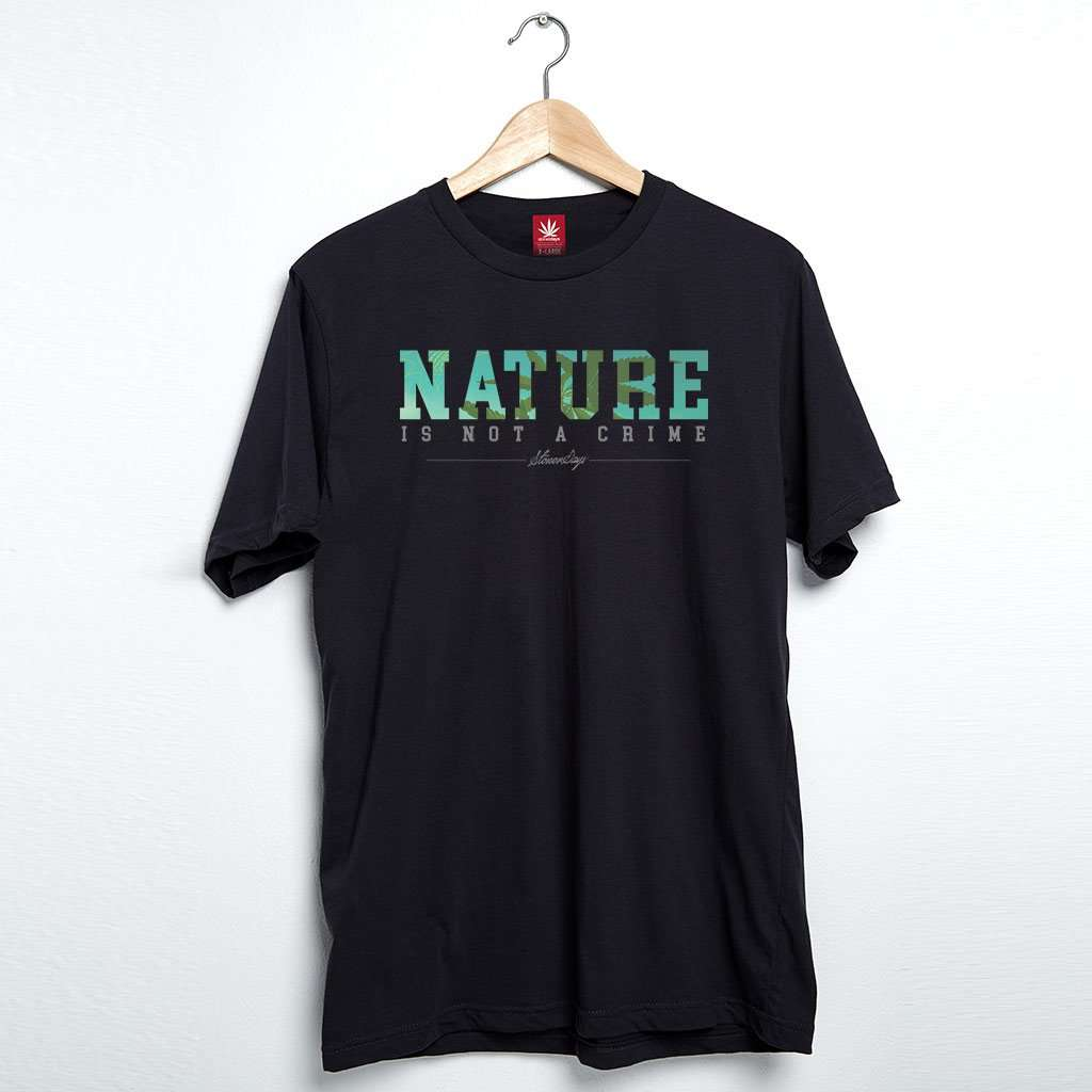 Men's Nature Is Not A Crime Tee