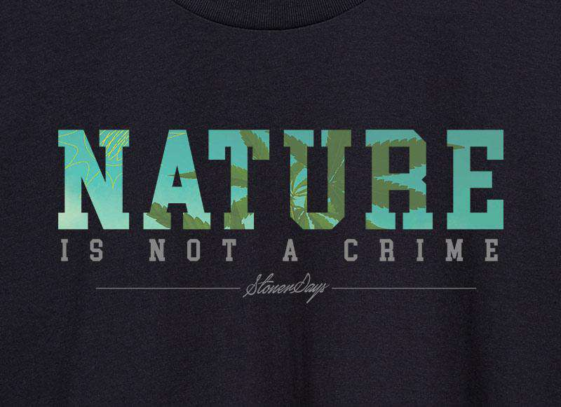 Nature Is Not A Crime Hoodie