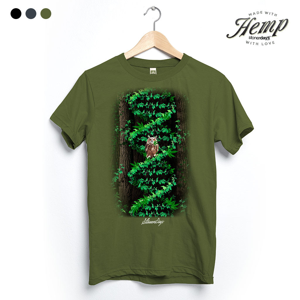 Night Owl Genetics Hemp Tee
