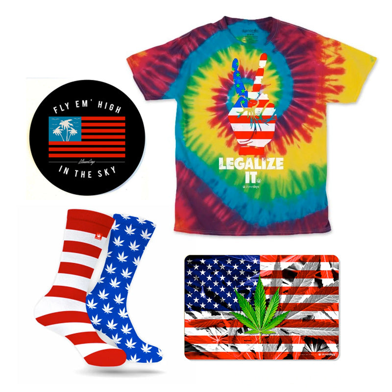 Operation Tie Dye Stars And Stripes Combo