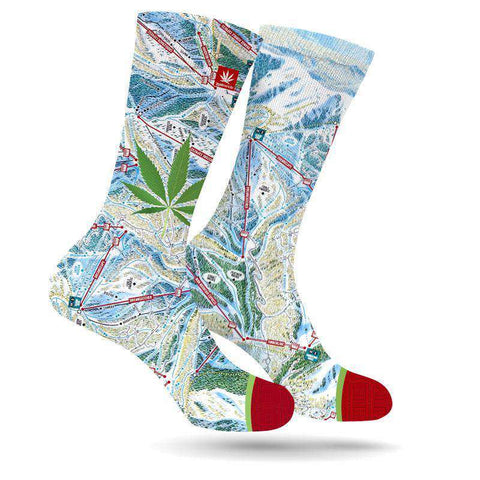 PARK CITY KUSH LEAF SOCKS