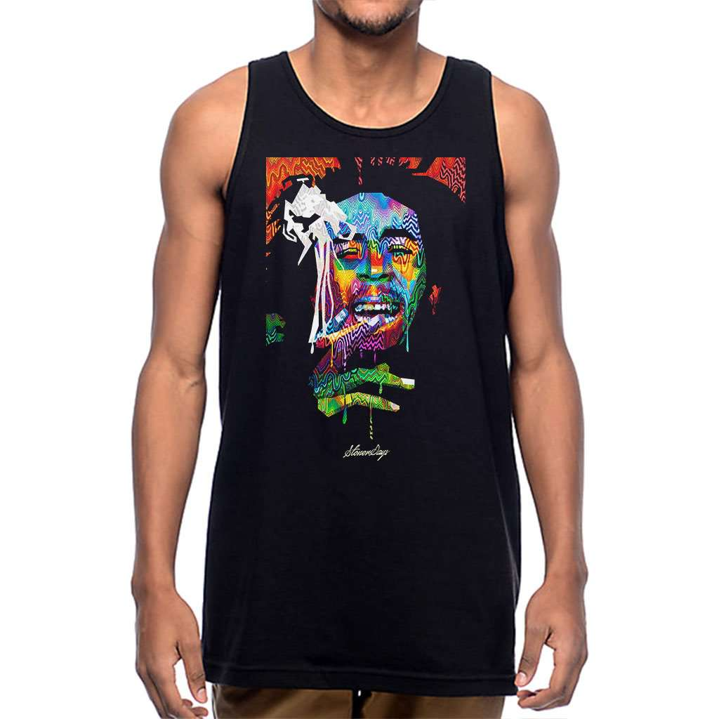 Mens Pop Art Bob Tank Top