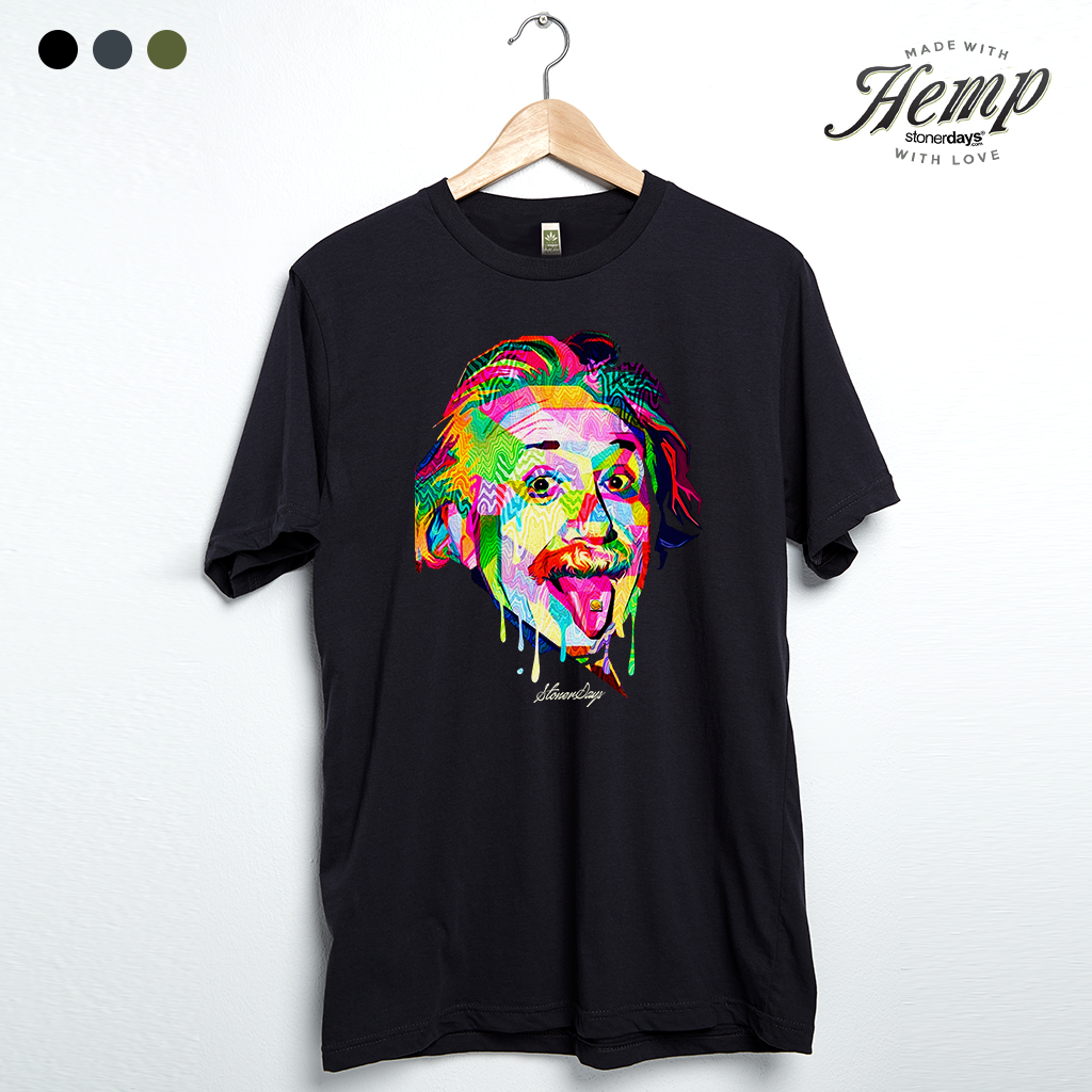 Pop Art Einstein Hemp Tee
