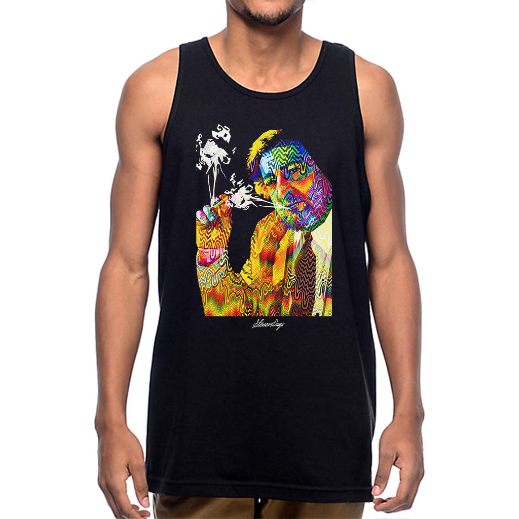 Mens Pop Art Jack Tank Top