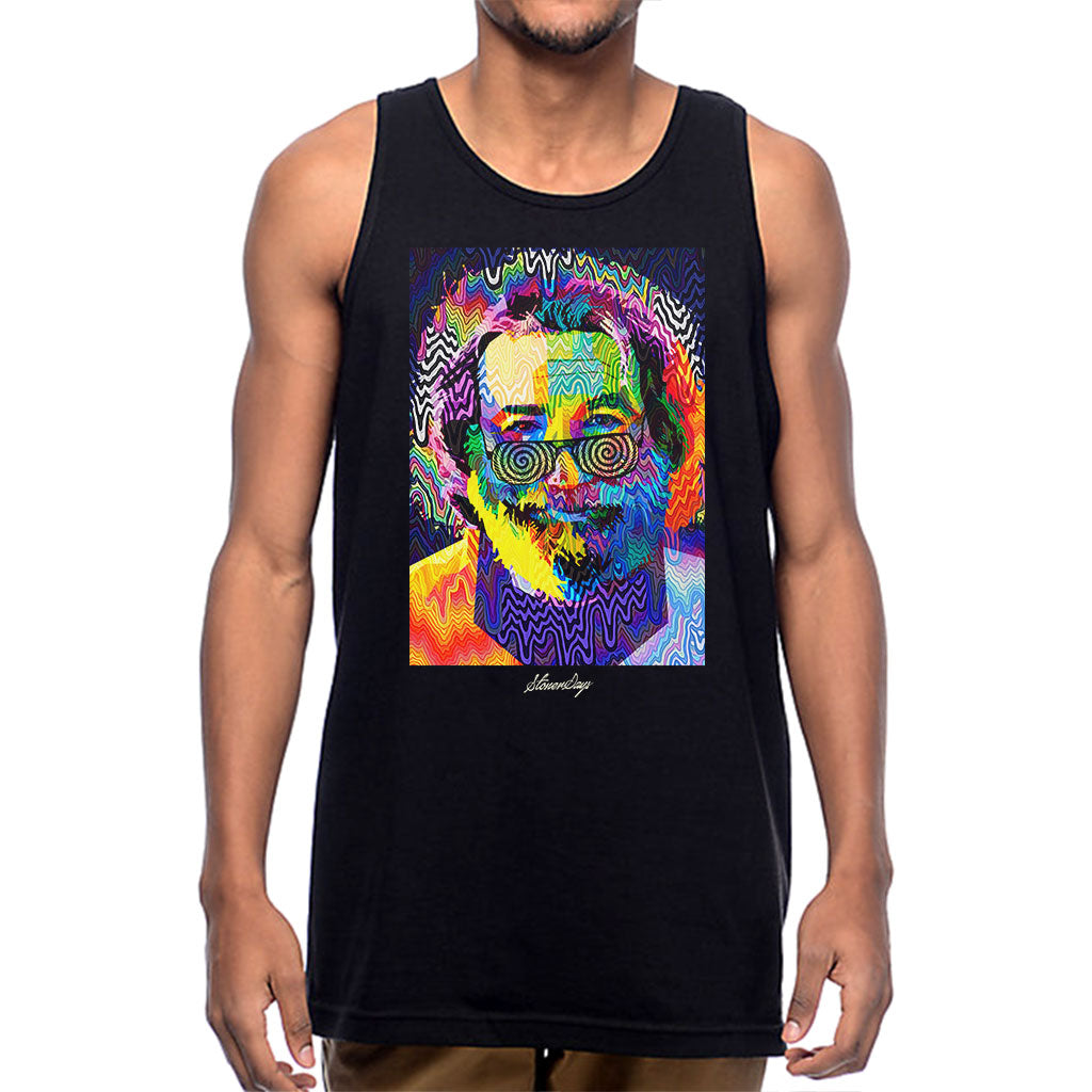 Mens Pop Art Jerry Tank Top