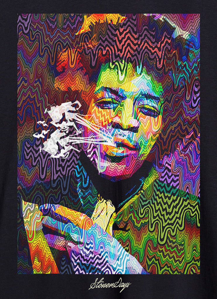 Pop Art Jimi Racerback