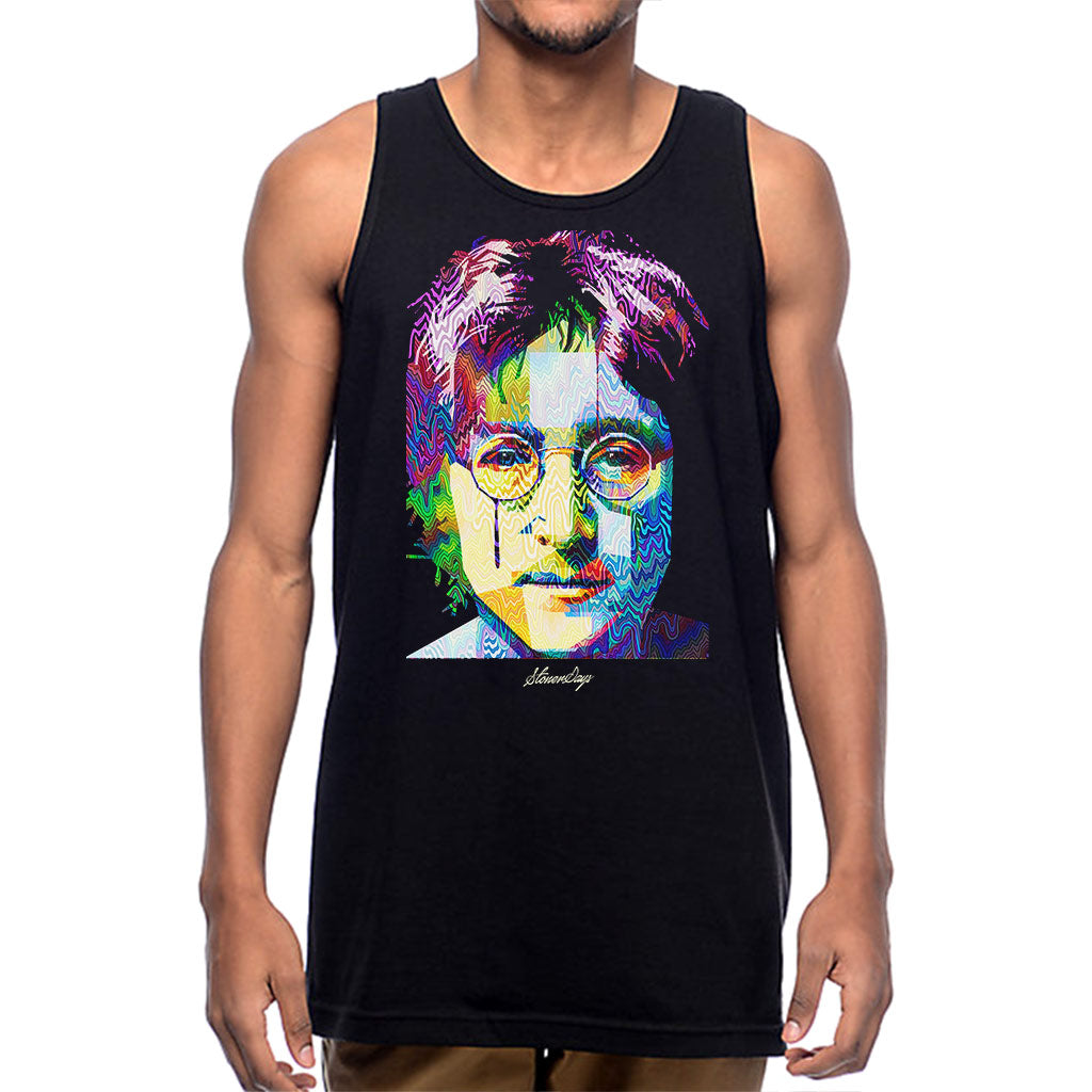 Mens Pop Art John Tank Top