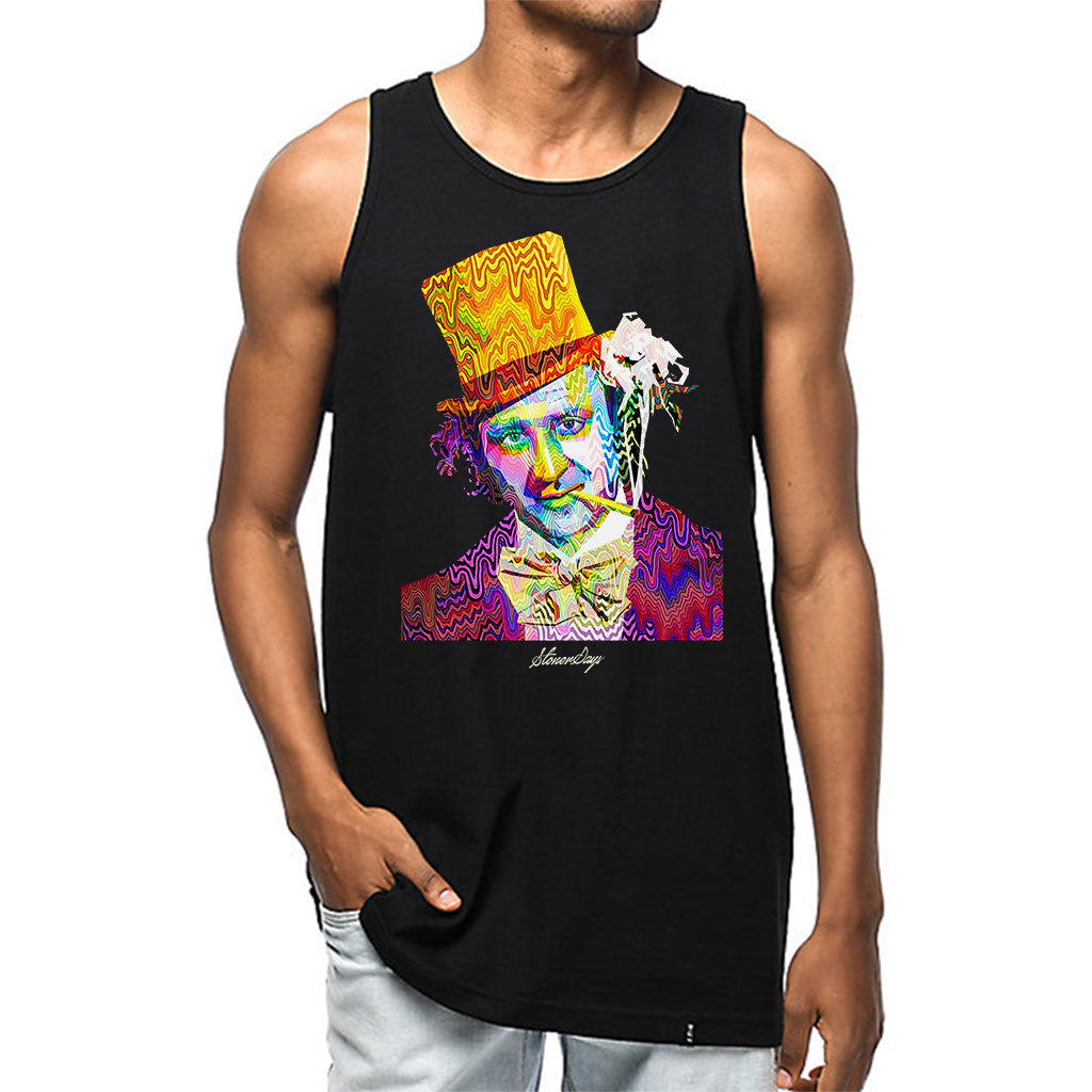 Mens Pop Art Willy Tank Top