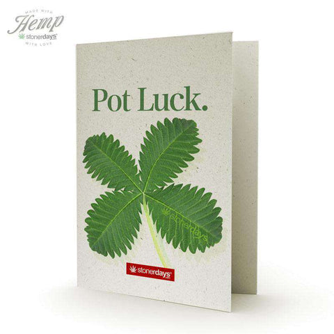MARIJUANA HEMP CARD: POTLUCK