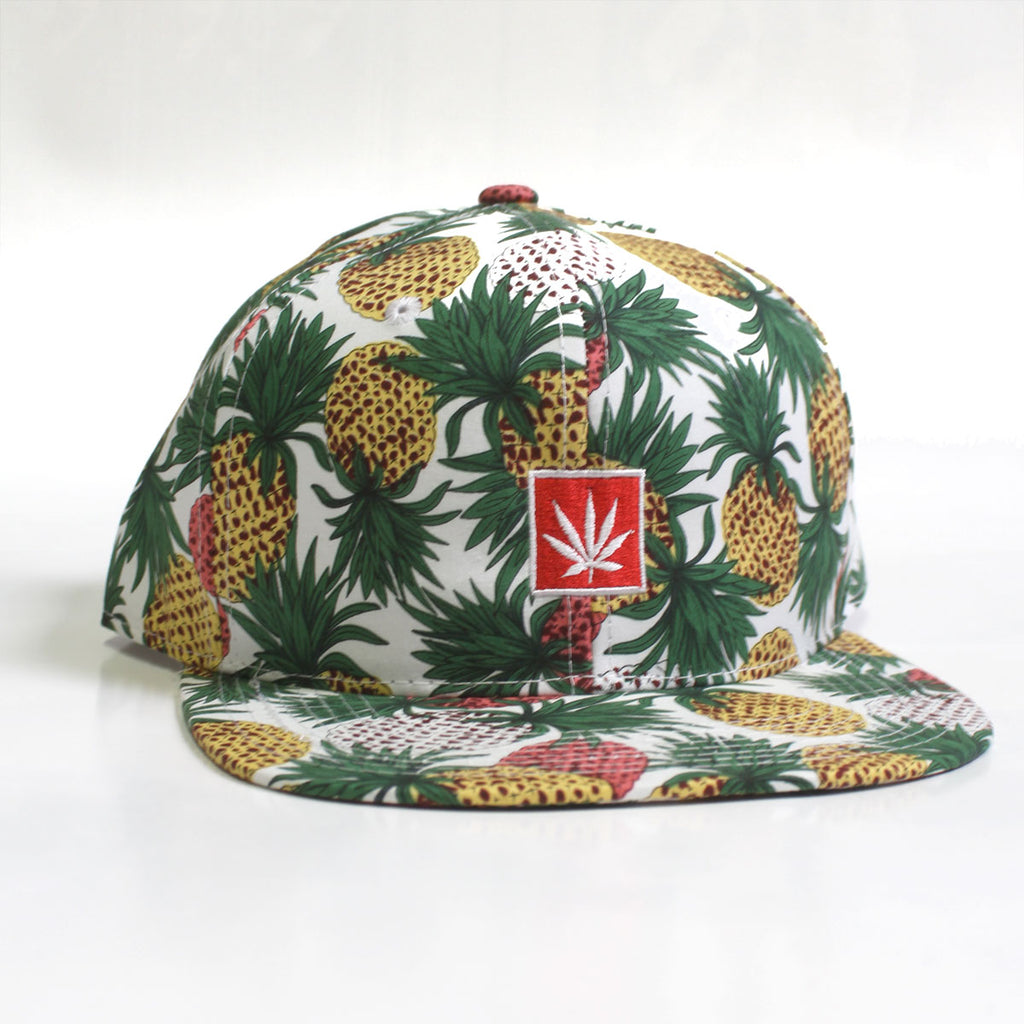 Pineapple Kush Snapback Hat