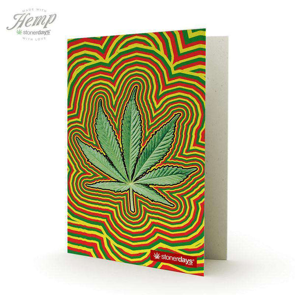 RASTA LEAF HEMP CARDS