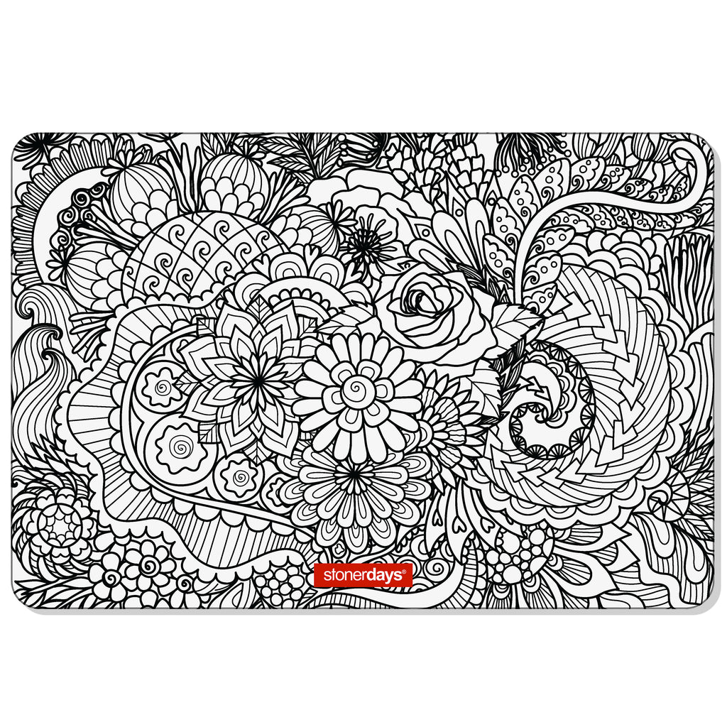 Sea of Flowers Large Creativity Mat Set