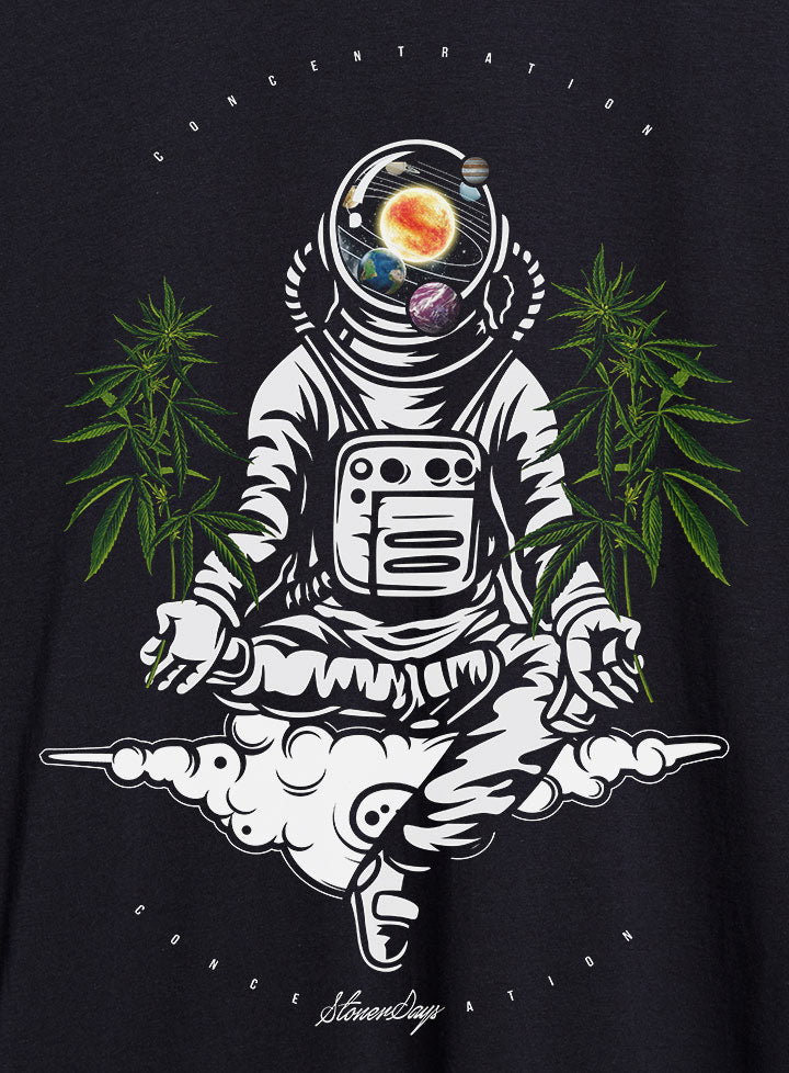 Space Concentration Hemp Tee