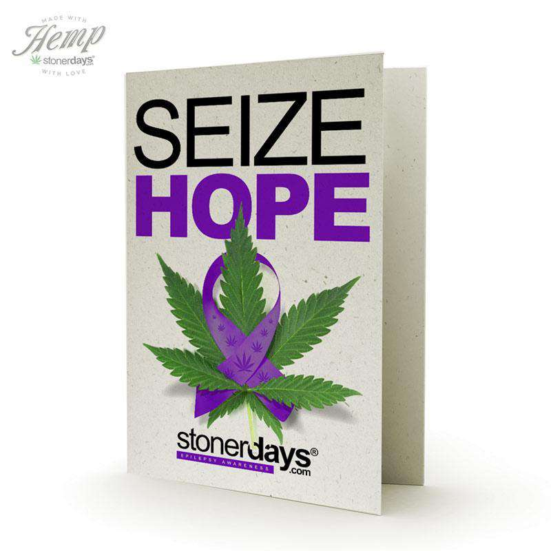 SIEZE HOPE HEMP CARD