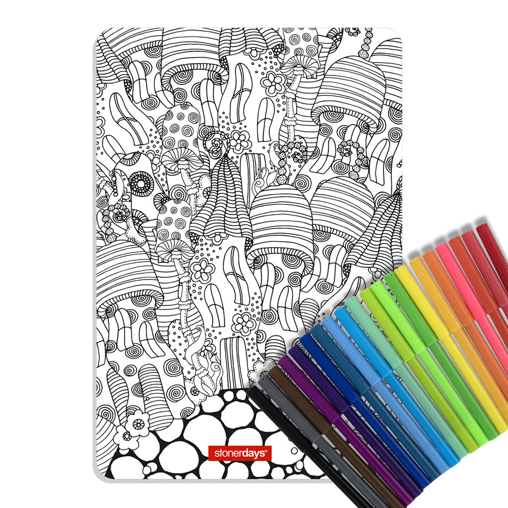 Shroom Roots Large Creativity Mat Set
