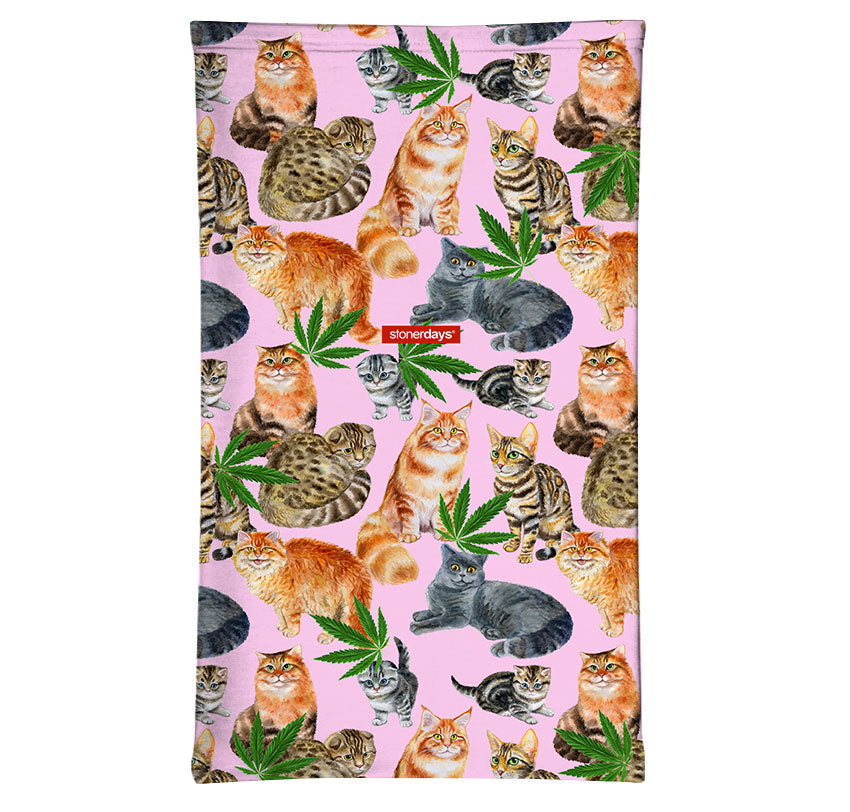 Smoke Meowt Kitties Neck Gaiter
