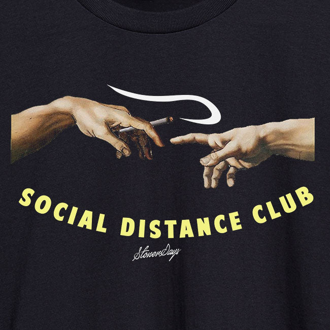 Social Distance Club Women's Racerback