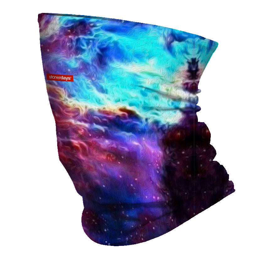 Space Painting Galaxy Neck Gaiter