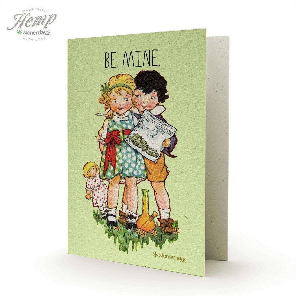 BE MINE HEMP CARD